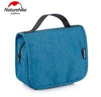 Naturehike Portable Storage Wash Bag Waterproof PU PVC Handbag Men Ladies Hanging Folding Swimming Wash Bags