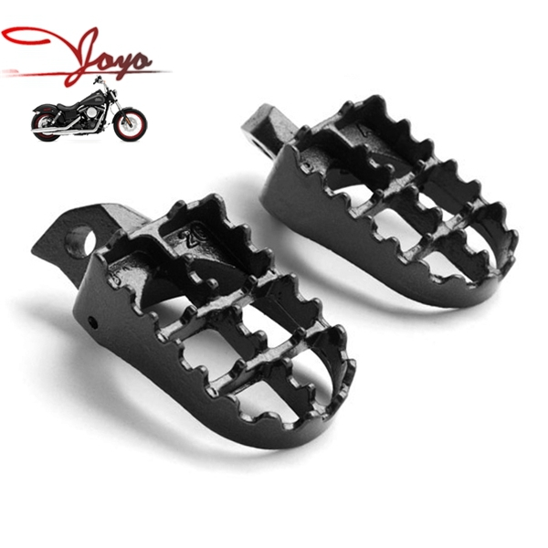 Motorcycle Steel Foot Pegs Footrests For Dirt Bike