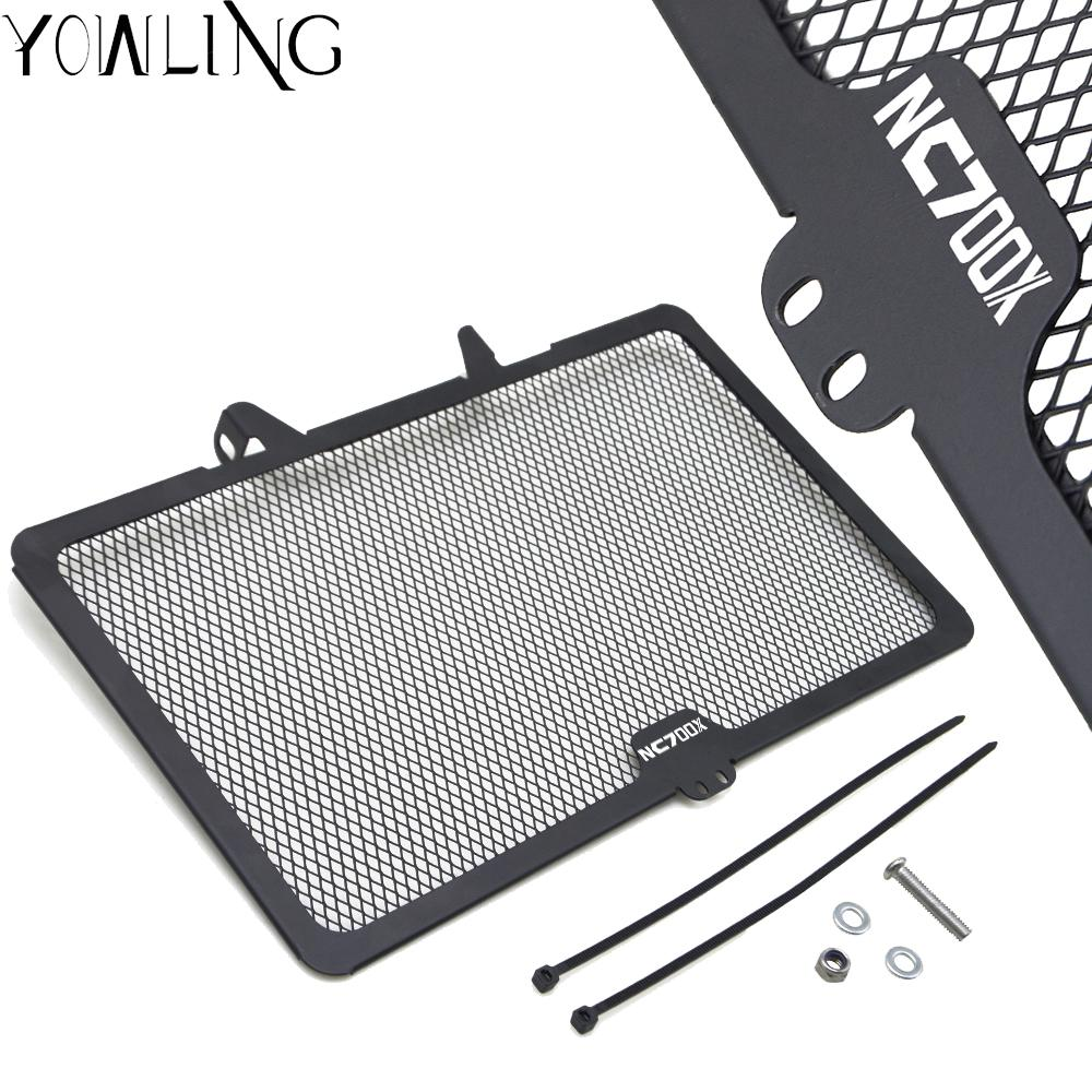 Motorbike Radiator Grille Grill Protective Guard Cover Fuel Tank Protection Net FOR <font><b>Honda</b></font> NC700X NC700 X <font><b>NC</b></font> <font><b>700X</b></font> 2012 2013 2014 image