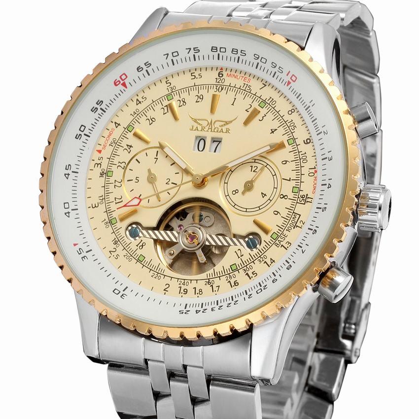JARAGARบุรุษbayanลาก่อนs aatiแบรนด์หรูชั้นนำคนT Ourbillonนาฬิกาอัตโนมัติวิศวกรรมผู้ชายทองนาฬิกาข้อมือRelógio Masculino-ใน นาฬิกาข้อมือกลไก จาก นาฬิกาข้อมือ บน AliExpress - 11.11_สิบเอ็ด สิบเอ็ดวันคนโสด 1