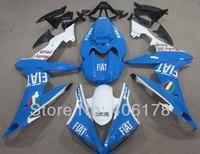 Лидер продаж, YZF 1000 R1 04-06 ABS Moto Обтекатели для Yamaha YZF R1 2004-2006 дорога улица велосипед Fiat обтекатели (Термопластавтоматы)