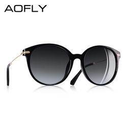 AOFLY Fashion Lady Sun glasses New Polarized Women Sunglasses Vintage Alloy Frame Classic Brand Designer Shades Oculos AF7913