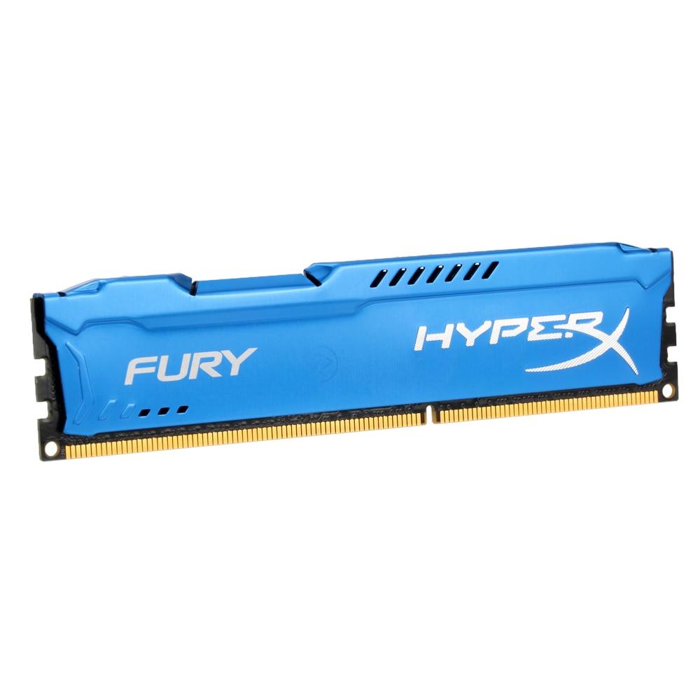 Kingston HyperX FURY Ram DDR3 4 gb 8 gb 1866 mhz Speicher DIMM RAM 1,5 v 240-Pin SD RAM Intel Speicher Ram Für Desktop PC Gaming Laptop