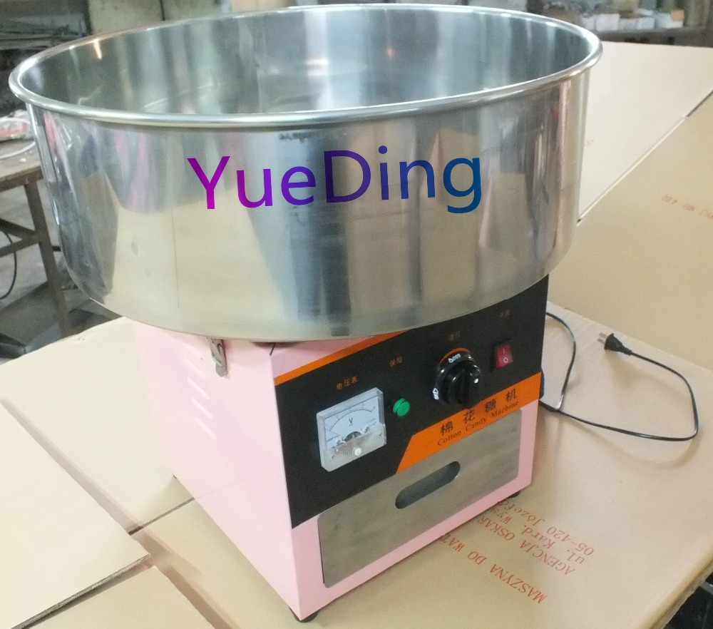 hot Sale 500MM Electric Cotton Candy Floss Maker Machine Price professional cotton candy floss machine cotton candy vending machine with low price