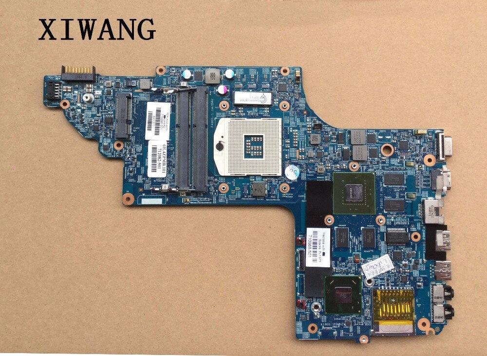 710988-501 710988-001 pour HP Pavilion DV6-7000 mère d'ordinateur portable DV6T-7000 Portable 635 m 2g Carte Système entièrement Testé
