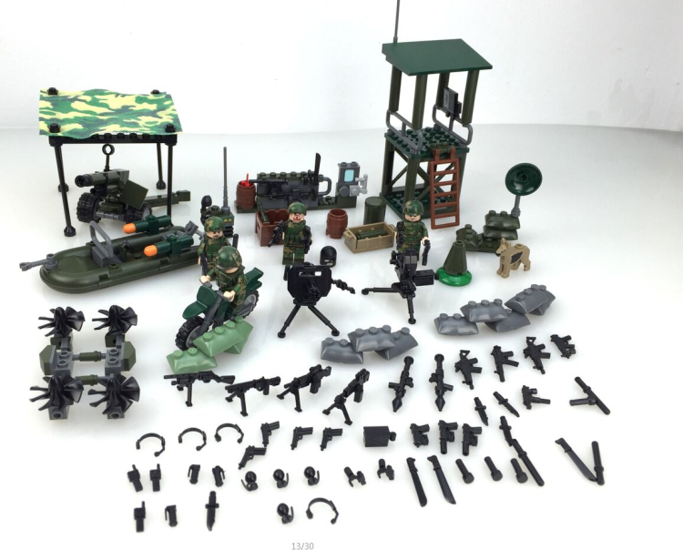 Temporary base weapons original toy swat police military weapons accessories Compatible all kinds Building Blocks c010 original blocks educational toys swat police military weapons gun model city accessories mini figures