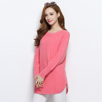 Women S Sweaters Hot Sale Pure Cashmere Pullover Ladies New Fashion Long Sweaters Woolen Knitted Clothes