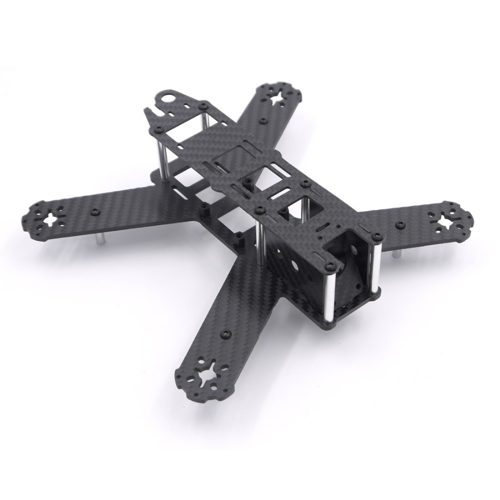 Mini 210mm 210 Pure Carbon Fiber Quadcopter Frame Kit For LS-210 QAV210 FPV Racing Drone drone frame carbon fiber 210 frame qav210 mini quadcopter drone racing crossing frame with motor protection seat