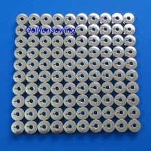 100 шпули L size металлические шпули для вышивных машин BARUDAN TAJIMA TOYOTA