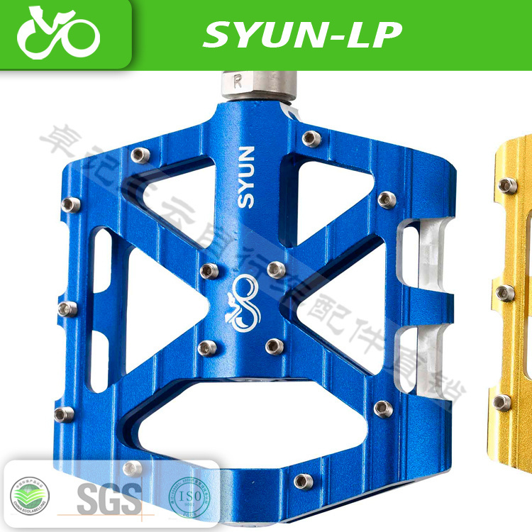 Free shipping original 100% SYUN ultralight DH MTB BMX breaing alloy platform bicycle pedal parts accessories