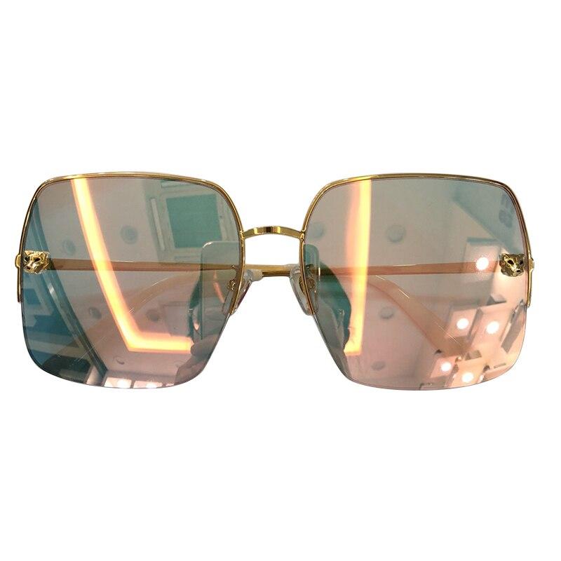 no3 Spiegel Frauen no2 Fahren Marke No1 Gläser Weibliche no4 Quadrat Sunglasses Qualität Rahmen Sunglasses no5 2019 Oversize Sonnenbrille Sunglasses Designer Sunglasses Glas Hohe Sunglasses Sonne Eqw4qHz