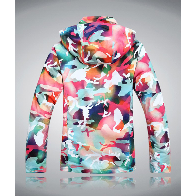 Livraison gratuite veste de ski veste de snowboard imperméable femmes combinaison de neige pour femmes veste alpinisme manteau chaud - 2