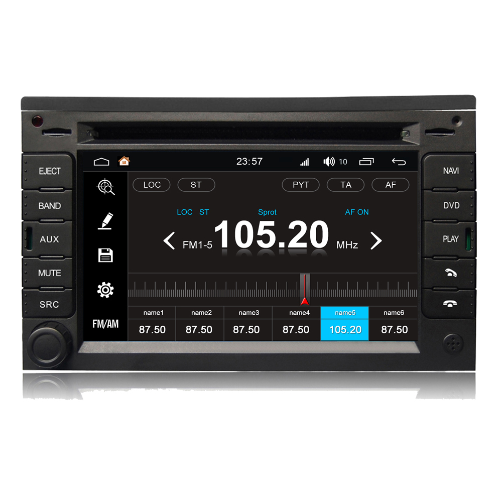 Beste For VW Passat B5 Jetta Golf 4 Polo Android 8.0 Autoradio Car DVD EP-96