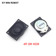 2PCS/Lot LCD Monitor/TV Speaker Horn 3W 4R 4028 2840 Loud speaker 4 ohms 3 Watt 4R 3W 40*28MM цена и фото