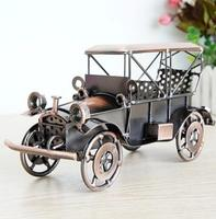 direct deal wholesale Alloy 1924 ford sports car model old car furnishings crafts creative decoration Home