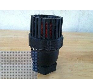 Ventil Ersetzen Schwarz 1 1,5 1-1/2 bsp Innengewinde Pp Kunststoff Ball Fuß Rückschlagventil Für Strahlpumpe Schwarz Ausreichende Versorgung Sanitär
