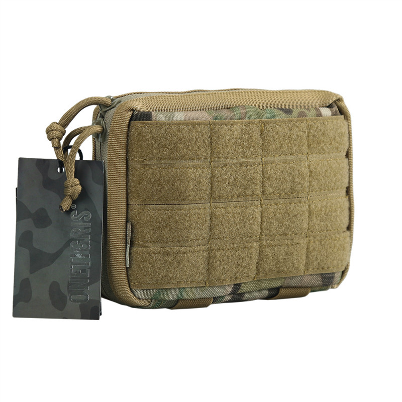 OneTigris Military MOLLE Admin Pouch Tactical Multi Medical Kit Bag Utility Tool Belt EDC Pouch For Camping Hiking Hunting