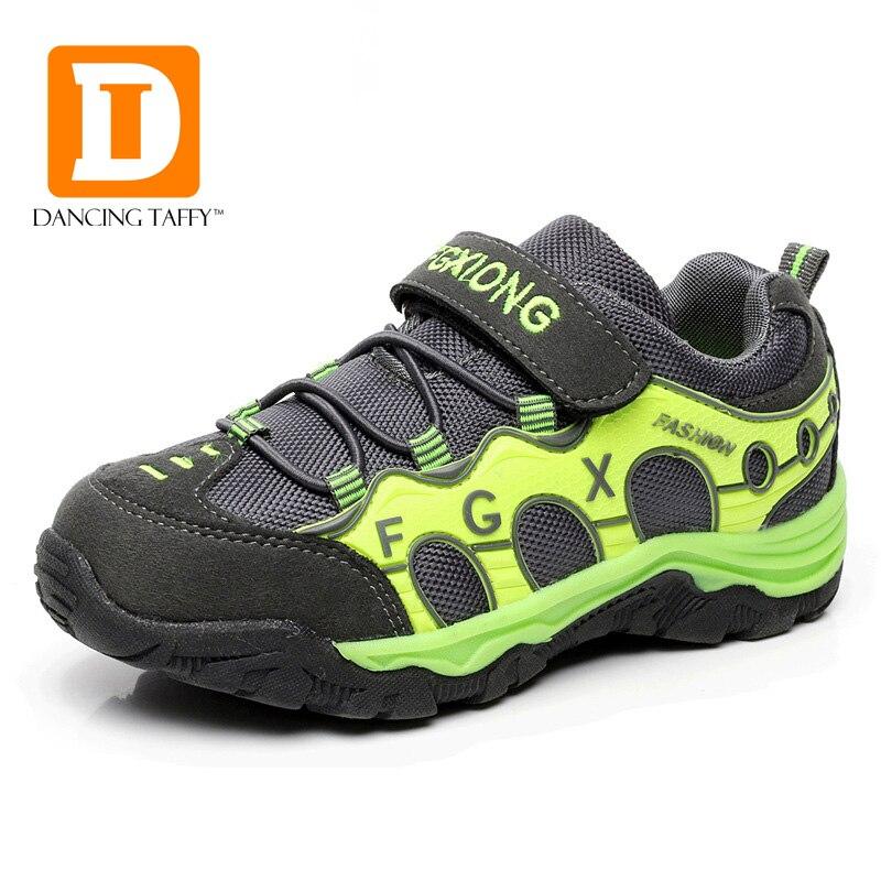 PU & Oxford Sprots enfants chaussures TPR décontracté enfants chaussures pour fille et garçons chaussures 2019 nouvelle marque de printemps chaussures de course de mode