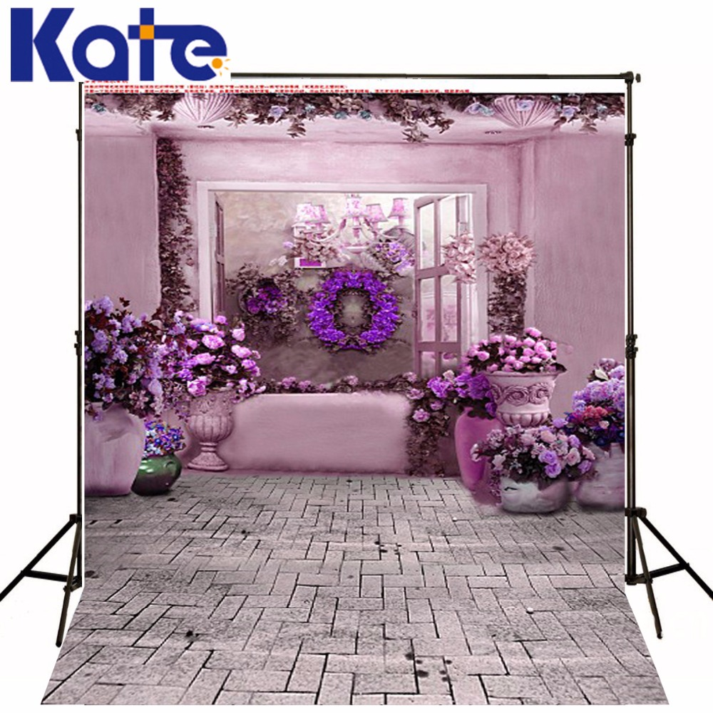 300Cm*200Cm(About 10Ft*6.5Ft) Fundo Hang A Wreath Of Flowers3D Baby Photography Backdrop Background Lk 2124 купить