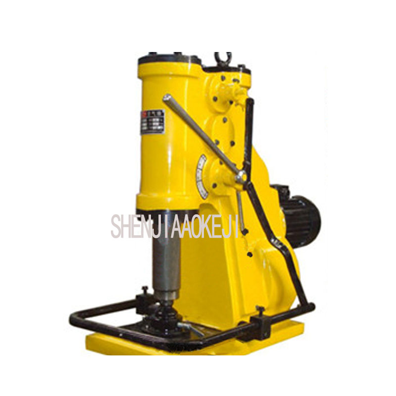 C41-6kg miniature air hammer 6KG Pneumatic Forging Hammer low noise Miniature air hammer 220V/110V 1pc