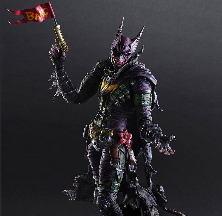 Batman Figure Gogues Gallery Joker Batman Play Arts Kai Play Art KAI PVC Action Figure Bat Man Bruce Wayne 26cm Doll Toy si2305 a5shb 3 5a 8v sot23