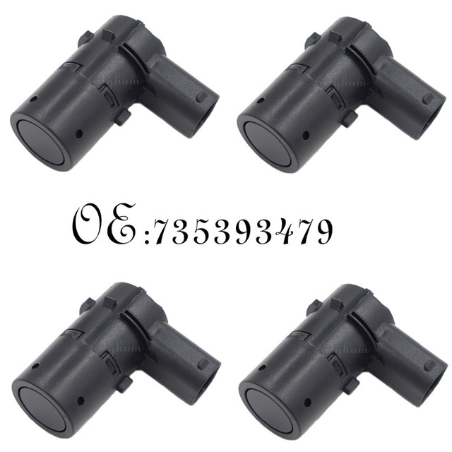 4PCS PDC Parking Sensor 735393479 735429755 46802909 For Fiat Multipla Stilo Croma Doblo Ducato Idea Marea Palio Musa