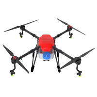X4 10P quadcopter agricultural spraying drone 10L sprayer drone long flight time durable carbon fiber frame kit drone