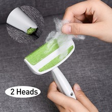 2 Heads Sofa Bed Seat Gap Car Air Outlet Vent Cleaning Brush Dust Remover Lint Hair Home Tools
