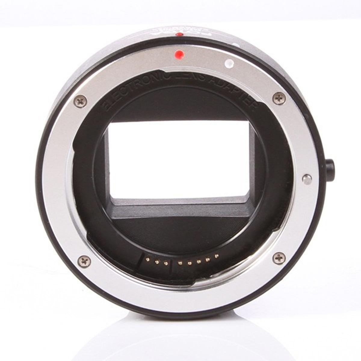 FOTGA Electronic AF Auto Focus Lens Adapter Ring for Canon EOS EF EF-S to Sony E NEX A7 A7R A7S A9 A6300 A6500 lens Full Frame fotga electronic af auto focus lens adapter for canon ef ef s to sony e nex a7 a7r full frame