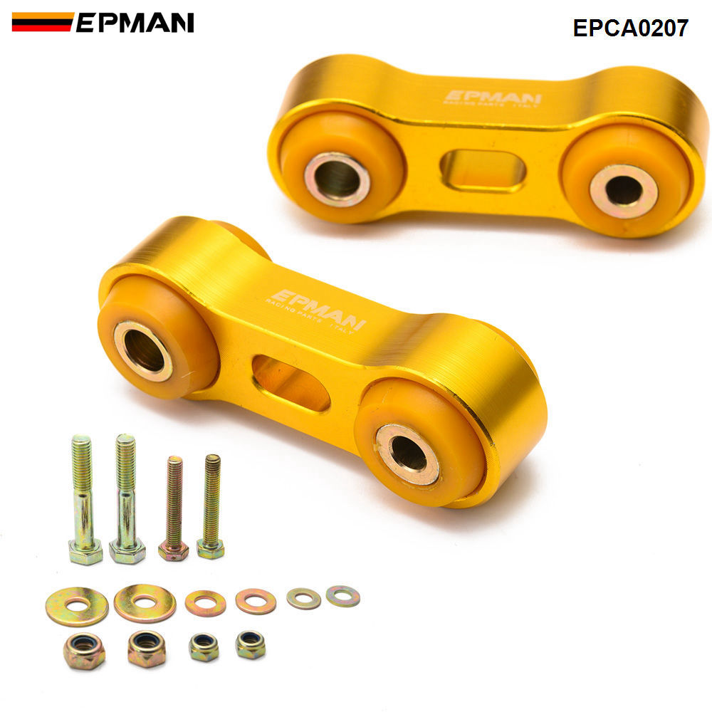 Epman Front Sway bar End Link Stabilizer End Fit 2002-2007 Subaru Impreza WRX Wagon/Sedan EPCA0207