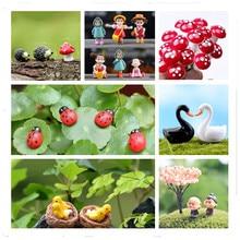 2 шт. черепаховый пейзаж декоративный волшебный сад миниатюры Террариум модель для кукольного дома домашний рабочий стол суккуленты микро