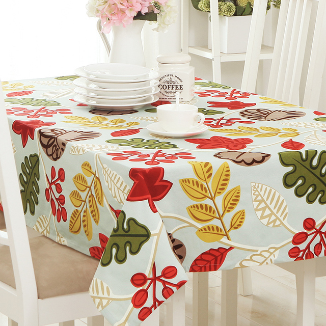 Europe Past Fl Cycling Design Table Cloth Printed Rectangular Cover Home Outdoor Party Banquet