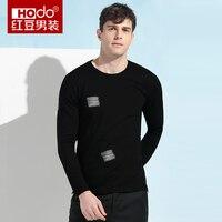 Hodo 2017 Summer Men T Shirt Brand Fashion O Neck T Shirt Men Knitted T Shirt