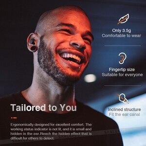 Image 5 - SANLEPUS TWS 5.0 Mini Bluetooth kulaklık kablosuz spor kulaklıklar 3D Stereo kulaklık gürültü engelleme mikrofonlu tekli kulaklıklar