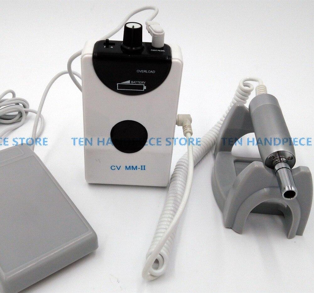 E тип портативный стоматологический Мини Micro Двигатель бесщеточный машина электрическая Двигатель с одним Прямо наконечник низкая Скорост