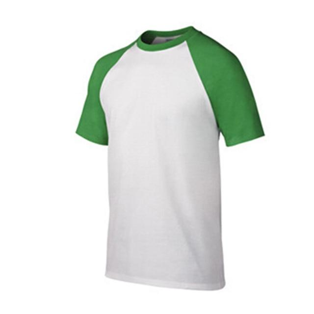 Gildan Brand 100% Cotton T Shirt Men Short Sleeve Solid Color T Shirts Hot Summer High Quality Raglan T-shirt Simple Men Tees