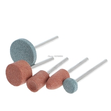 3mm Shank Diameter Grinding Wheel Head for DIY Grinding/Polishing Wood/Mental/Mould Electric Mini Grinder Power Tool JUN13