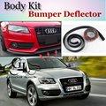 Für Audi Q5 2008 ~ 2015 Lip Lippen/Auto Lip Shop Spoiler Für Auto Tuning/TOPGEAR Body Kit + streifen-in Spoiler & Flügel aus Kraftfahrzeuge und Motorräder bei