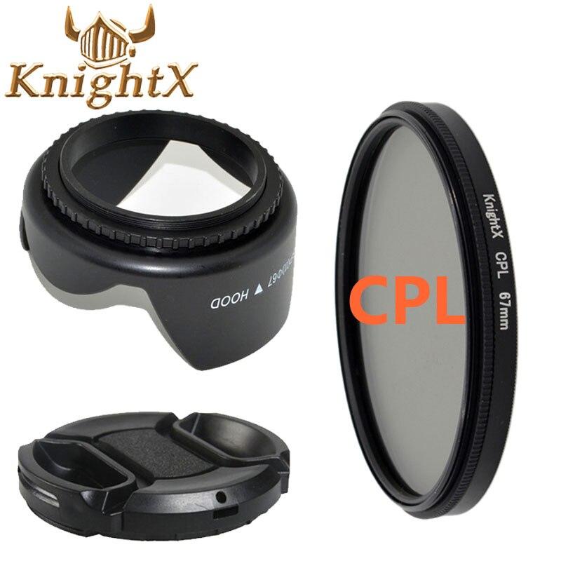 49-77mm Filtro UV Kit de limpeza de Lente Pétala de Flor PARA Pentax Sony Nikon Canon 5200 5100 7000 3100 3200 3300 Escolha Szie a partir de