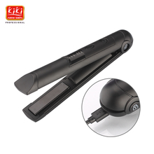 KIKI mini Universal voltage Wireless rechargeabl HAIR Straightener With lock system great for travel Cordless Hair