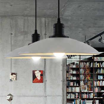 E27 Retro Industrial Loft Style Restaurant Bar Cafe Creative Iron Pot pendant lamp Dia32cm  AC110V 220V 230V - DISCOUNT ITEM  16% OFF All Category