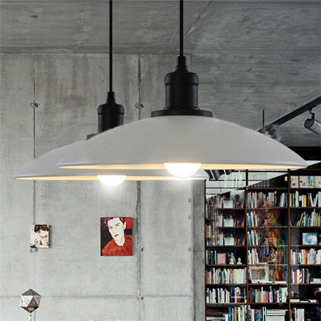 E27 Retro Industrial Loft Style Restaurant Bar Cafe Creative Iron Pot pendant lamp Dia32cm  AC110V 220V 230V