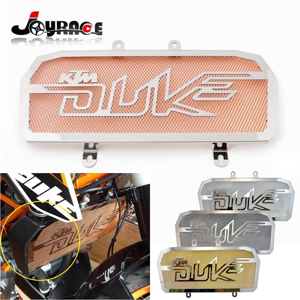 ФОТО 100% Quality Guarantee Stainless Steel Motorcycle Radiator Cover Guard for KTM DUKE 390