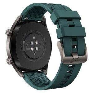 """Image 2 - Huawei社腕時計gtアクティブ版スマートスポーツウォッチ1.39 """"amoledカラフルな画面heartrate gps水泳ジョギングサイクリング睡眠腕時計"""