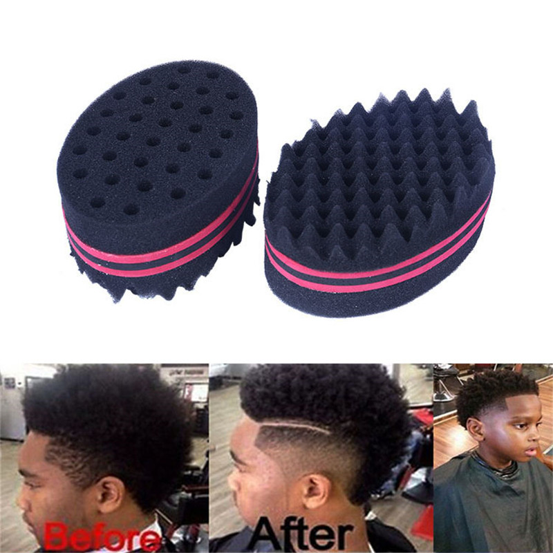 Hot Fashion Cool Wave Hair Twist Sponge Professional Dreads Twisting Locks Dreadlocks Curl Brush Sponge DIY Barber Hair Braider