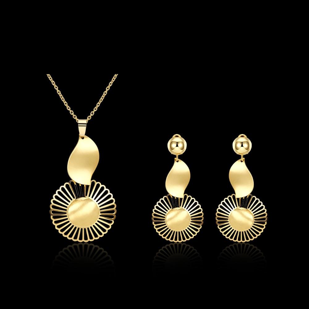 set de taki seti voor vrouwen luxury juwelen jamaica mais vendidos gros Dahu Rico jewelry sets gold filled