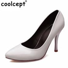 Женщины стилет высокие тонкие каблуки обуви сексуальные классика весна марка качество партия обуви мода на высоких каблуках насосы размер 33-48 P22739
