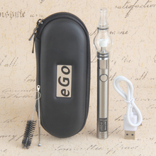 UGO-V II  battery glass globe atomizer ego electronic cigarette starter kit ugo battery for dry herb wax vape pen ecig fit evod