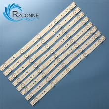 LED Backlight strip 5 lamp For 43E3000 43E3500 43E6000 E465853 5800 W43001 3P00 4p00 5P00 VER01.00 02K03177A RDL430WY LD0 10D