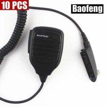10PCS A58 Microphone Baofeng A58 Speaker Mic for BAOFENG A58 Walkie Talkie